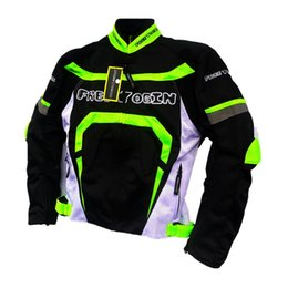 Nylon Mesh Motorcycle Jacket Australia - Summer mesh breathable racing suit knight off-road jacket outdoor sport jackets motorcycle jackets cycling clothes windproof 2 colors