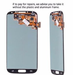 Touch Screen For Galaxy S4 Canada - 5.0'' IPS LCD For S4 Display Touch Screen with Frame GT-i9505 Digitizer LCD For Galaxy S4 LCD Display Screen