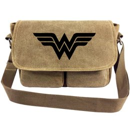 $enCountryForm.capitalKeyWord NZ - Wonder Woman messenger bag Super hero sling case Gal Gadot satchels Sport canvas urick Single shoulder pack Outdoor haversack