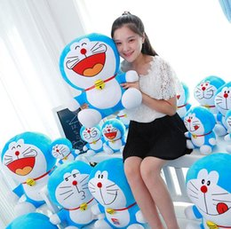 Cat Doraemon Doll Australia - plush toys Duo a dream jingle cat Doraemon Stuffed doll toy Totoro For Kids Toys Cartoon Figure Cushion dolls brinquedos free shipping