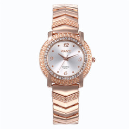 Women Watch Beauty Australia - Luxury Fashion Women Watches Lady Bracelet Stainless Steel Rose Gold Watch Quartz Wristwatches Gifts Relogio Feminino Beauty Designer Clock