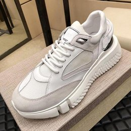 sports plus shoes Canada - New Breathable Veloce Off Sneaker Mens Shoes Scarpe Da Uomo Autumn And Winter Shoes High Quality Casual Lace -Up Plus Size Sports Men Shoes