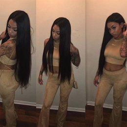$enCountryForm.capitalKeyWord NZ - Peruvian Human Hair Bundles straight hair extensions 4 pieces lot unprocessed virgin human hair weave hairstyle natural color fast shipping