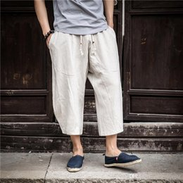 $enCountryForm.capitalKeyWord NZ - Hot sale pants 2018 Autumn Plus Size Hip Hop Harem Pants Men Casual Loose Trousers Drawstring Joggers Black M-5XL