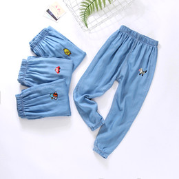$enCountryForm.capitalKeyWord Australia - Children's clothing 2019 summer thin section boy jeans girls pants mosquito pants baby cotton foreign air loose trousers