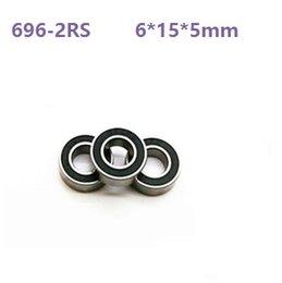 6*15*5 Metric Shielded Ball Bearings 6x15x5mm 10pc 696ZZ Free Shipping