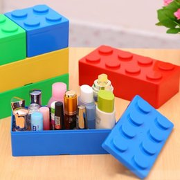 $enCountryForm.capitalKeyWord Australia - 1 Pcs Vanzlife Building Block Shapes Plastic Saving Space Storage Box Superimposed Desktop Handy Office House Keeping