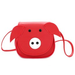 Cheap Mini Kids Purses Girls handbag Cute pig children shoulder bags  messenger bag kids princess Bags 60b130e8782c