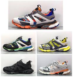 2019 кроссовки Париж трек релиз 3 Тесс мужчины gomma maille черный для женщин тройной S неуклюжий Sneaker Sneaker горячие аутентичные дизайнер обуви