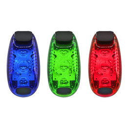 Bicycling Gear UK - Cycling Bicycle Lights Bicycle Part Multi-function Led Safety Light Clip On Running Lights Reflective Gear Nighttime Cycling Led