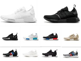 boost pack 2019 - New R1 Japan Pack Triple White BZ0221 Triple Black BZ0220 Real Boost R1 Running Shoes Small nipples Boost 5-11 cheap boo