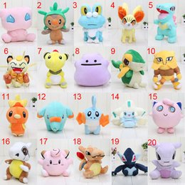 $enCountryForm.capitalKeyWord Australia - olls Accessories Dolls 20 different styles 11-18cm Pocket doll Ditto Meowth Snivy Phanpy Torchic Jirachi Froakie Mudkip Plush Toy Soft Do...