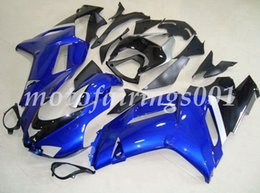 custom zx636 Australia - 4Gifts Free Custom New ABS Bodywork set Fairings kits Fit For KAWASAKI Ninja ZX-6R ZX-636 ZX636 ZX6R 2007 2008 ZX 636 OEM Black Blue