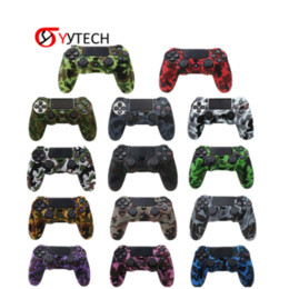 Ps4 silicone camouflage online shopping - SYYTECH New Variety Camouflage Handle Silicone Case Non slip Controller Protector Cover For PS4 Slim Pro