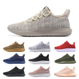 29bfeddd3 2019 Tubular Shadow Knit Ultra Mens Running Designer Shoes Women Outdoor  Trainer Lightweight Sports Best Hiking Jogging Sneakers Size 36-45