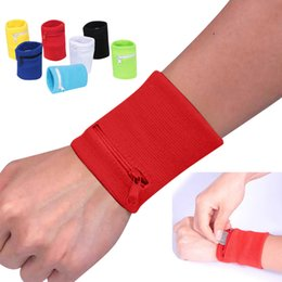 Sport hand wrap online shopping - 1pc Sports Wrist Band Wrist Support Strap Wraps Hand Sprain Running Travel Gym Cycling Safe Bands Belt