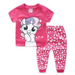 3bc1c675d68d8 2019 filles vêtements bébé fille pyjamas enfants ensemble fille enfants  chemise de nuit dessin animé vetement enfant fille pyjama pyjama ensemble  nouveau