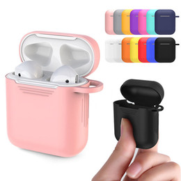 $enCountryForm.capitalKeyWord Australia - High Quality Soft Silicone Case Sleeve Protective Skin Cover For AirPods Earphone Cases Ultra Thin Air Pods Protector Case FAST SHIP