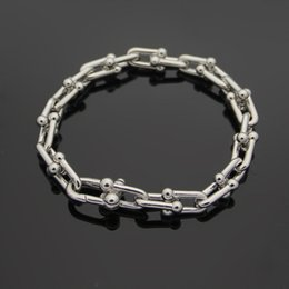 $enCountryForm.capitalKeyWord Australia - hot Rose glod OT Buckle charm Bracelets For Women and Men Fine Jewelry Top Quality Titanium Steel Silver Bangle Bracelet pulseiras