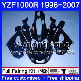 $enCountryForm.capitalKeyWord Australia - Body For YAMAHA metal black new Thunderace YZF1000R 96 97 98 99 00 01 238HM.7 YZF-1000R YZF 1000R 1996 1997 1998 1999 2000 2001 Fairings kit