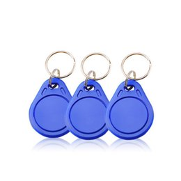 Yellow keY tags online shopping - High Quality MHz RFID IC Key Tags Keyfobs Token Keychain Red blue yellow