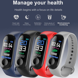 smart watches android fitbit Canada - M3 Bluetooth Smart Bracelet Sport Watch Step Calorie Counter Tracker Pedometer pulseira Relógios reloj inteligente PK fitbit apple watch