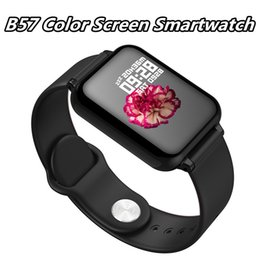 $enCountryForm.capitalKeyWord Australia - New arrival B57 Sport Smart Watches Android Watch Waterproof Smart watch With Heart Rate Blood Pressure Women Men Smartwatch For IOS phone