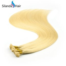 $enCountryForm.capitalKeyWord Australia - Silanda Hair Cheap #22 Straight Flat Tip Pre Bonded Remy Human Hair Extensions 1g s 24 Inch 100 strands pack Free Shipping