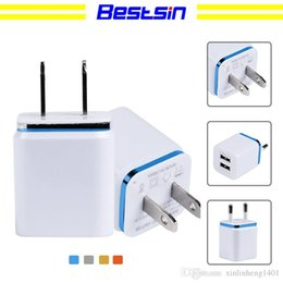 Apple Dual Usb Wall Charger Australia - Bestsin Dual USB wall charger US plug 2.1A AC power dapter 2 USB wall charger for Samsung Galaxy iPhone Android Phones