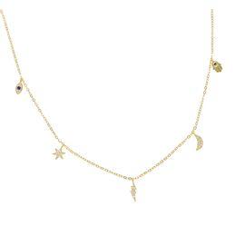 d57cbf47a Hamsa Choker NZ - GOLD Vermeil 925 sterling silver lucky charm necklace  evil eye hamsa hand