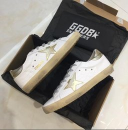 sky blue dress shoes for men 2019 - Golden Goose Ggdb Genuine Leather Luxury Superstar leather suede dress ladies tennis oxford shoes for men sneakers onlin