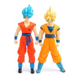 goku big toys Australia - Big promotion Dragon ball z figures Goku figure chidren toy colorful package 2Styles Children's Gift Sets 16cm