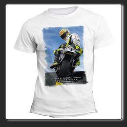 46 Doctor T Shirts Australia - T-Shirt Man Woman Vale Doctor 46 #iostoconvale b n - black RETRO VINTAGE Classic t-shirt