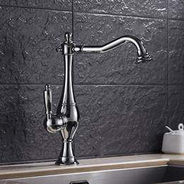 $enCountryForm.capitalKeyWord Australia - Retro Kitchen Faucet Hot & Cold Mixer Tap Sink Basin Kitchen Antique Brass Taps 360 Swivel Faucet For