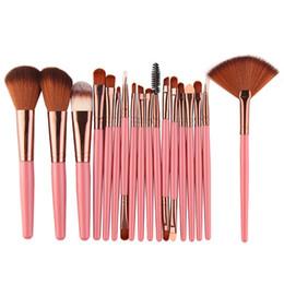 $enCountryForm.capitalKeyWord UK - Hot Sales 2018 18Pcs pack Makeup Brushes Tool Set Cosmetic Power Eye Shadow Foundation Blush Blending Beauty Make Up Brush 11.11