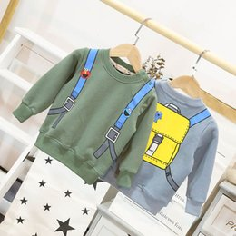 tees long winter Australia - New 2019 autumn winter cartoon Kids T-Shirt long sleeve tee shirt kids designer clothes boys sweatshirts girls pullover shirt A7772