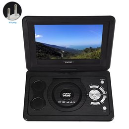 $enCountryForm.capitalKeyWord Australia - Car HD Mini 13.9inch DVD Player Home LCD CD TV Game Portable Rechargeable Battery Swivel Screen USB Outdoor