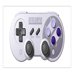 Wireless Usb Game Controller Australia - Wireless Bluetooth Gamepad Game Controller for Mac mode and Nintendo Switch mode with USB Cable Free Shipping