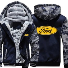 hoodie camouflage shirts NZ - New Hoodies Winter Camouflage Sleeve Jacket Men Fleece Winter Unisex Casual Wool Liner Fleece Man Coat Sweatshirts Pullover