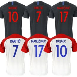 ef5699b85 Discount football world cup jerseys - Croatia Soccer Jerseys 2018 World Cup  10 MODRIC Jerseys 11