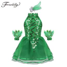 $enCountryForm.capitalKeyWord Australia - Children Ballet stage Performance Clothing Green Princess Tutu Dress Girls Jasmine Chorus Suit Kids Modern Dance Ballet Dress
