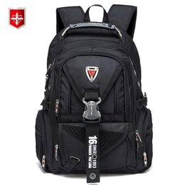 China Waterproof Oxford Swiss Backpack Men 17 Inch Laptop Backpacks Travel Rucksack Female Vintage School Bags Casual Bagpack Mochila Y19061102 cheap swiss laptop suppliers