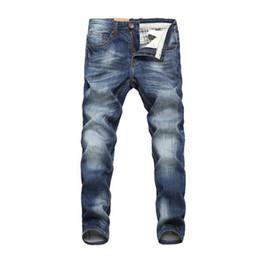 32 38 Jeans Australia - Male Long Trousers 32 33 34 36 38 40 Men Jeans Design Biker Jeans Strech Casual Jean For Men Hight Quality Cotton Fashion