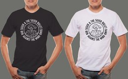 $enCountryForm.capitalKeyWord Australia - Bob Seger and Silver Bullet Logo Men's Black & White T shirt Funny free shipping Unisex Casual top