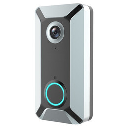 $enCountryForm.capitalKeyWord Australia - New V6 outdoor multi-function intelligent WIFI video doorbell camera wireless remote video voice intercom home surveillance camera