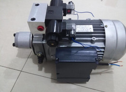 oil tables NZ - high quality hydraulic gear pumps Power packing Units double acting cylinder auto hoist car lift table platform motors and gear pumps