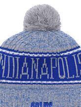 $enCountryForm.capitalKeyWord Australia - 2019 Unisex Autumn Winter hat Sport Knit Hat Custom Knitted Cap Sideline Cold Weather Knit hat Warm INDIANAPOLIS Beanie Skull Cap