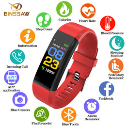 $enCountryForm.capitalKeyWord Australia - Binssaw New Men Women Kid Smart Watch Heart Rate Monitor Blood Pressure Fitness Tracker Bluetooth Sport Watches For Ios Android Y19051703