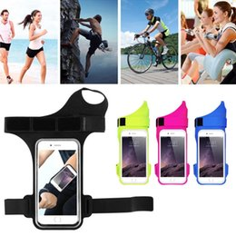 5.5 smartphones 2019 - 390x255mm motorcycle phone holder bag for Smartphones under 5.5 inches Waterproof PVC Mobile Phone Running Bag Armbands