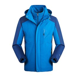 $enCountryForm.capitalKeyWord Australia - JAYCOSIN winter jacket men waterproof Hiking Jackets Outdoor Jackets Removable Two-Piece Flannel Detachable Hat Jacket Coat men